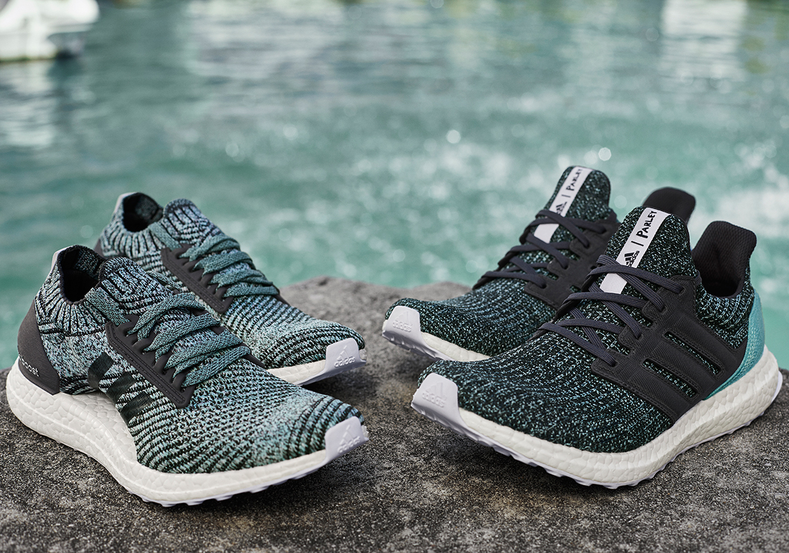 new styles 7eef2 5dcc5 Good for the oceans. The Adidas Ultraboost Parley running shoes ...